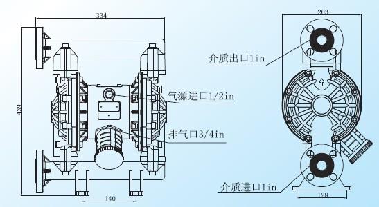 【塑料气动隔膜泵】塑料气动隔膜泵价格-上海浩洋